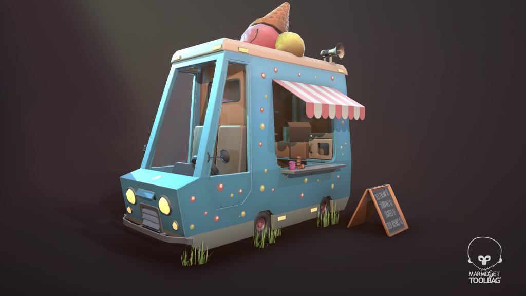 One Day Challenge – Ice Cream Truck
